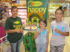 Rauch instore and outdoor promotions